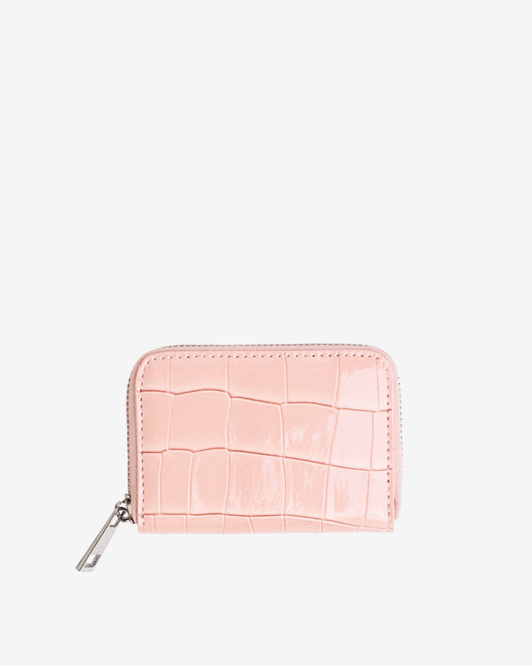 Hvisk WALLET ZIPPER CROCO Wallet 098 Soft Pink