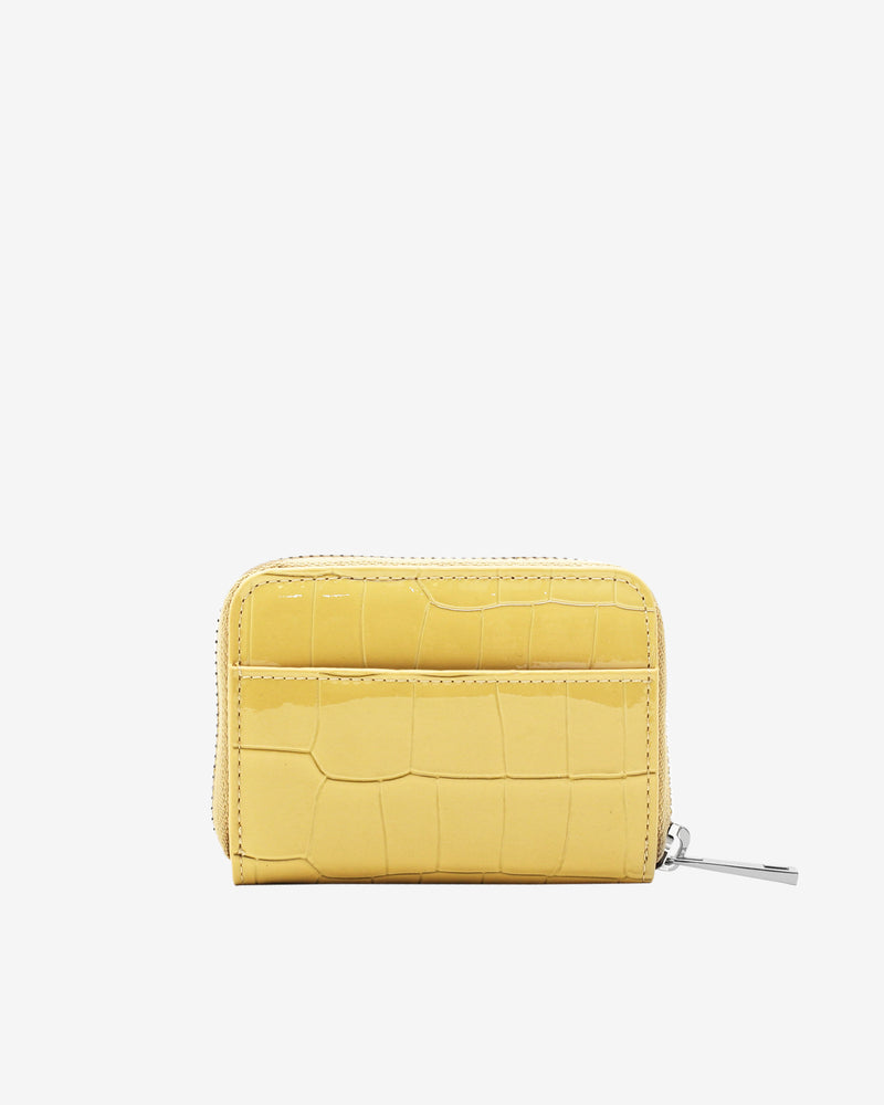 Hvisk WALLET ZIPPER CROCO Wallet 109 Sunkissed Yellow