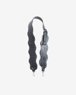 Hvisk WAVY HANDLE LONG Strap 123 Grey Dark