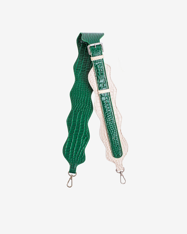 Hvisk WAVY HANDLE MIX LONG Strap 127 Pine Green
