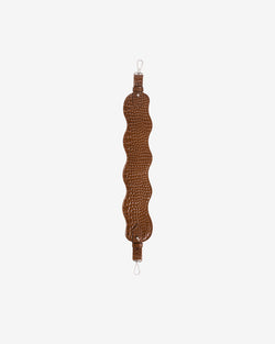 Hvisk WAVY HANDLE SHORT Strap 124 Brownish