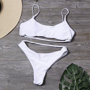 2020 Sexy High Cut Swimsuit