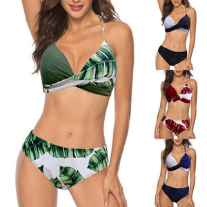 High Waist Bikini Set Monokini