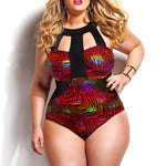 High Waist Plus Size Swimsuit