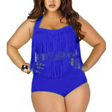 Load image into Gallery viewer, Plus Size Sexy Halter Swimwear
