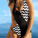 Summer Bathing One Piece Swimwear