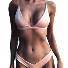 Load image into Gallery viewer, Low Waist Swimwear Bathing Suit