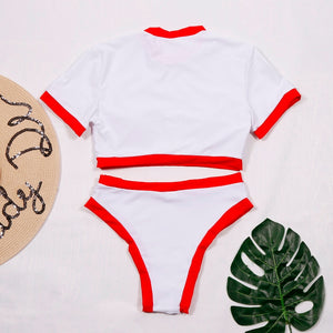 Hot Summer Top Tee Swimwear
