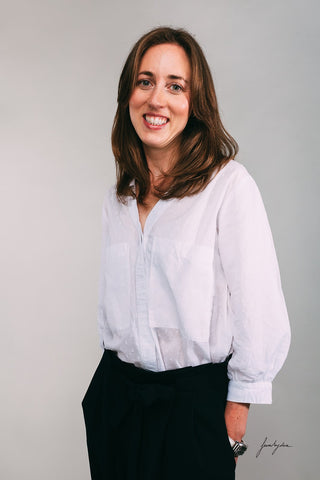 Founder of British Pyjama brand Siân Esther: Siân Adkins