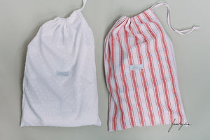 Red Striped Shorty PJ Set