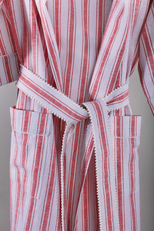 Red Striped Robe