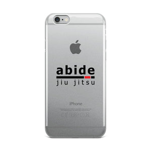 Abide iPhone Case