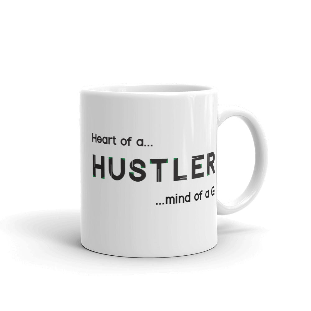 Heart of a HUSTLER Mug