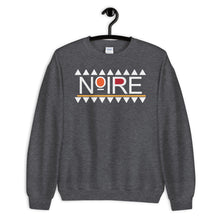 NOIRE {in white} Unisex Sweatshirt