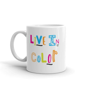 Live In Color Mug