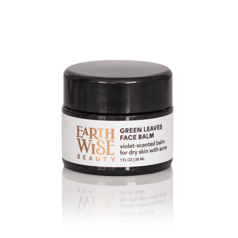 Earthwise Beauty Moisturizer Green Leaves Face Balm