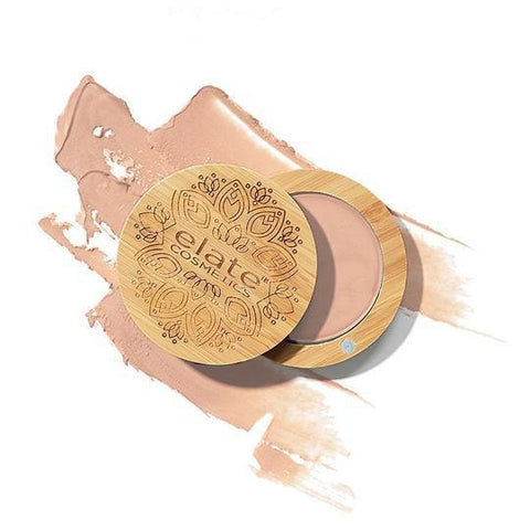 Elate Highlighter With Bamboo Compact Universal Crème - Wonder