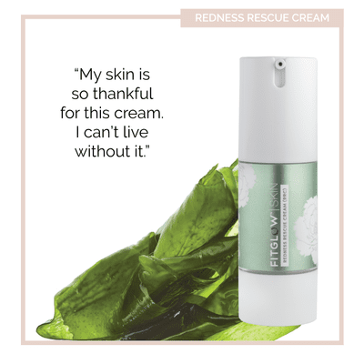 Fitglow Moisturizer Redness Rescue Cream