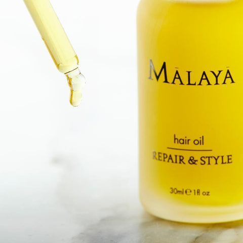 Malaya Organics Treatment & Styling Repair & Style Hair Oil