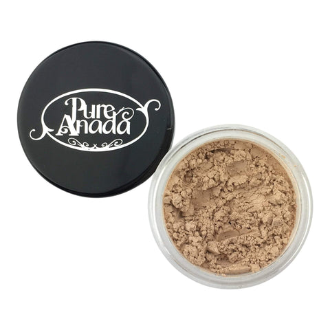 Pure Anada Face Powder Full Size (10 g) Loose Mineral Finishing Powder - Glow