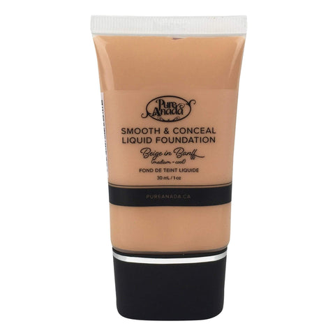 Pure Anada Foundation Full Size (30 ml) Liquid Foundation - Beige in Banff (Medium/Cool)