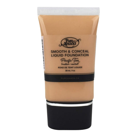Pure Anada Foundation Full Size (30 ml) Liquid Foundation - Pacific Tan (Medium/Neutral)