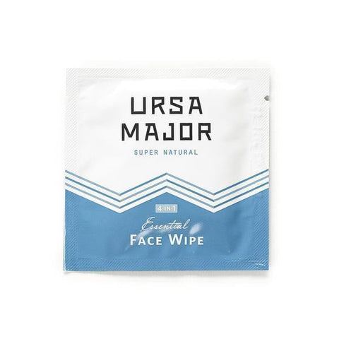 Ursa Major Cleanser Sample Essential Face Wipes
