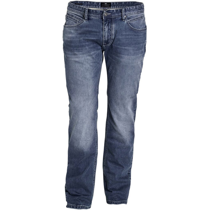Ringo strech jeans - Stor mand Jeans - Blue Used Wash - Knokleriet