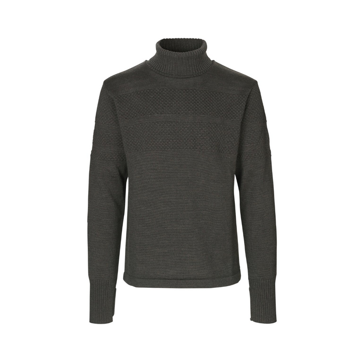 Klemens 100% Wool - Herre strik - Forest Night