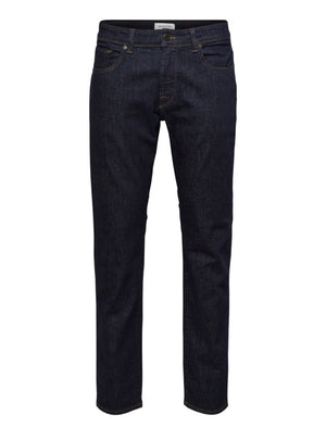 Selected - Straight Scott 1002 Rinse - Herre Jeans - Knokleriet