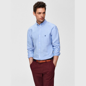 Oxford herre skjorte - Light Blue