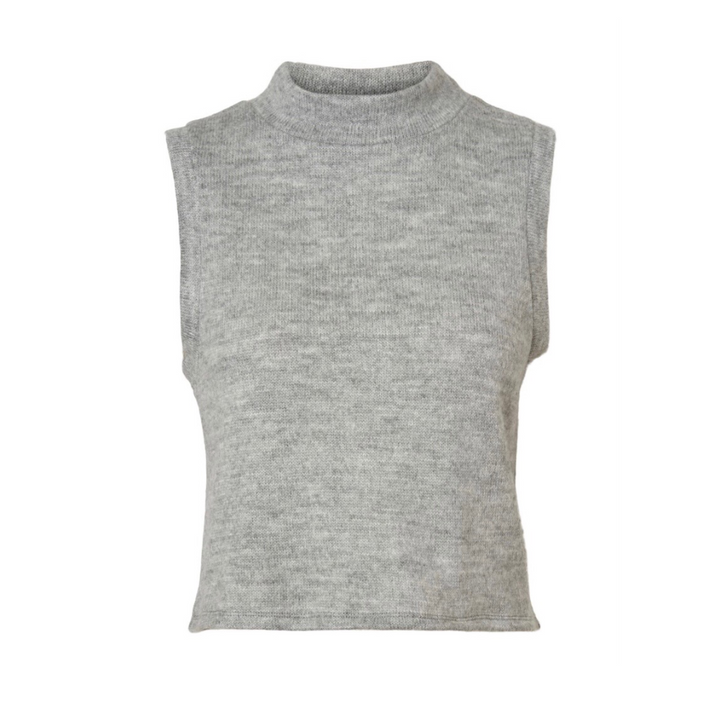 Terry Vest - Dame vest - Light Grey Melange