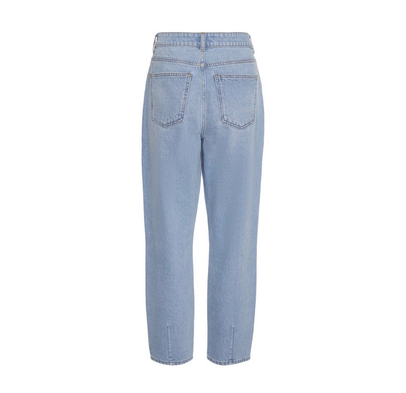 Isabel - Dame Jeans - Light Blue Denim