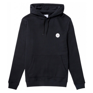 Our Shaxy Patch Hood - Herre Hoodie - Black - Knokleriet
