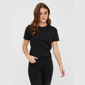 Brandy SS Top BG Noos - Dame T-shirt - Black - Knokleriet