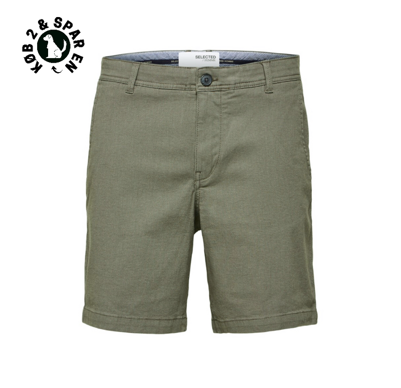 Storm Flex Shorts W - Herre Shorts - Agave Green/ Mix-Blac.