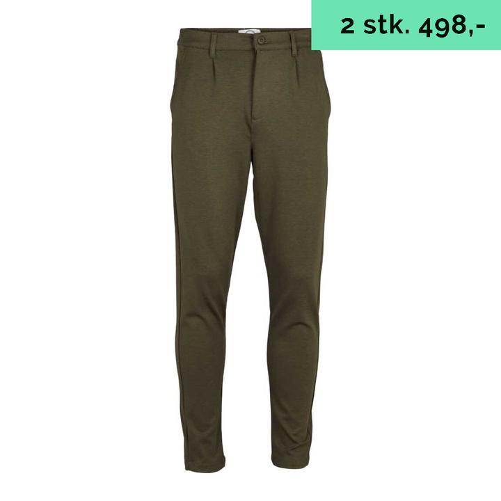 Flexpants - Herre - Burnet Olive