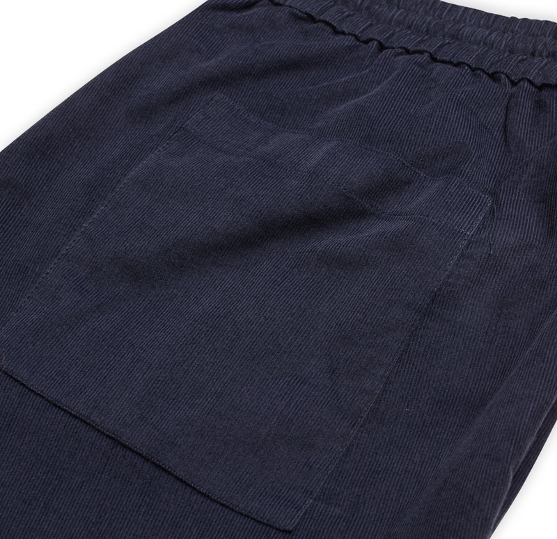 Dyed Baby Cord Socco - Herre shorts - Parisian Night