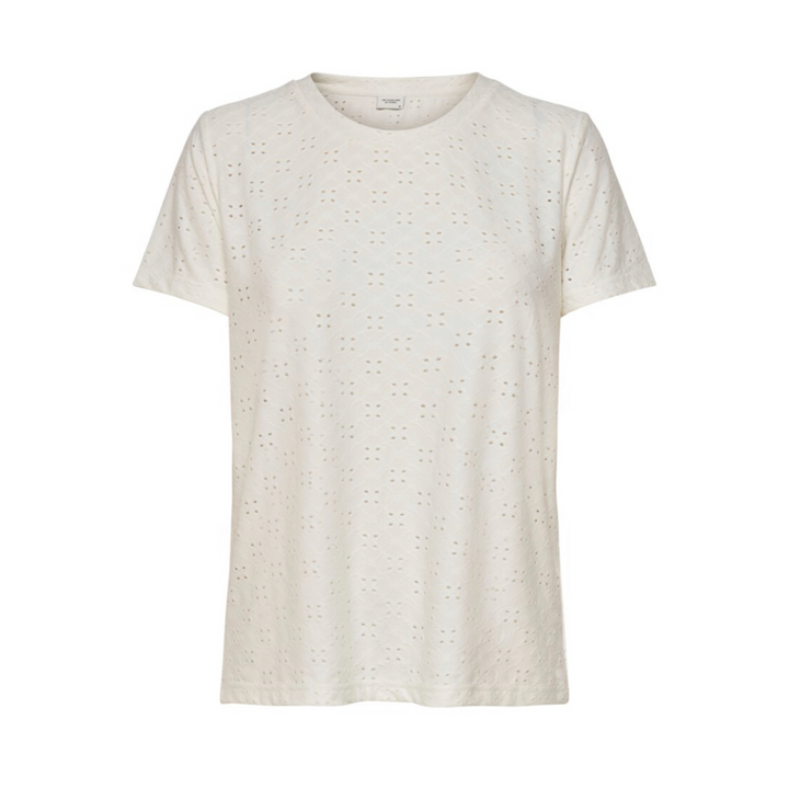 Cathinka S/S Top  - Dame T-shirt - Cloud Danser