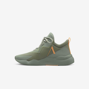 Pykro Mesh - Dame sneaks - Segrass Orange Glow