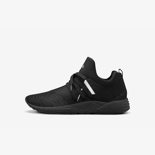 Raven Mesh S-E15 all black - Dame sneakers - Sort - Knokleriet
