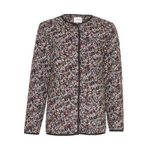 Glorie Jacket - Dame Jakke - Black Flower