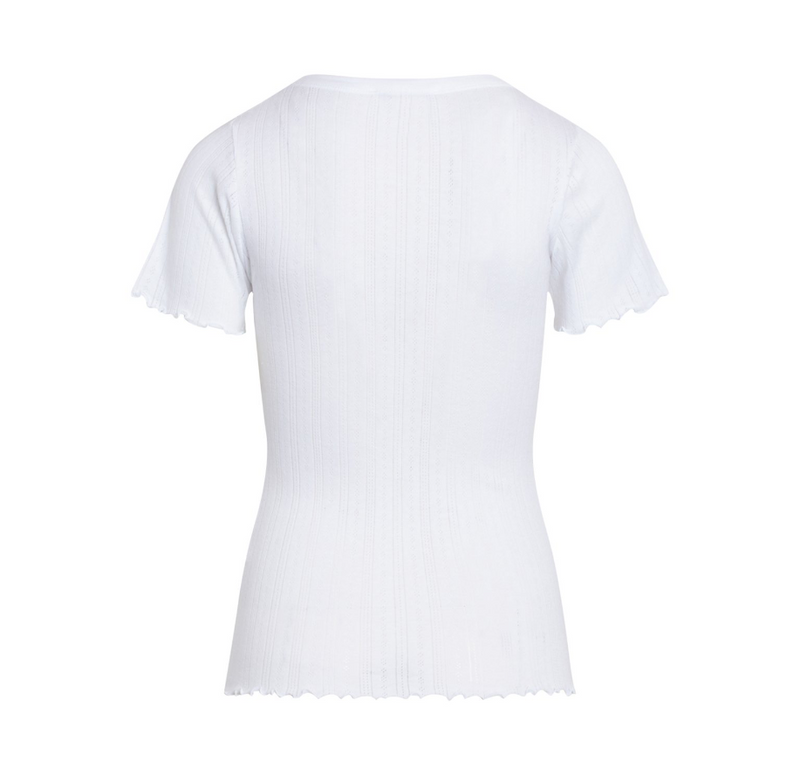 Pointella Trixa -Dame T-shirt -  White