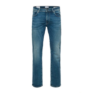 Straight-Scott 6266 - Herre Jeans - Medium Blue Denim
