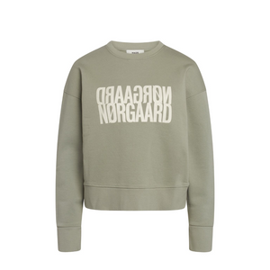 Organic Sweat Tilvina P - Dame Sweatshirt - Light Army