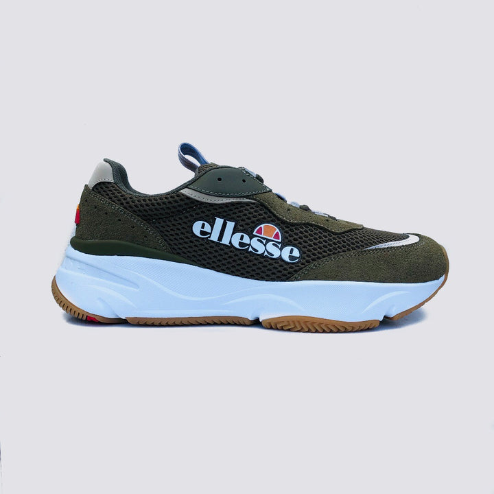 Ellesse - Massello Text Am Dk Green / kahki grey - Herre Sneakers - Knokleriet
