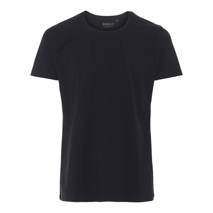 BASICLY PERFECT - HERRE T-SHIRT - 1 STK SORT - Knokleriet