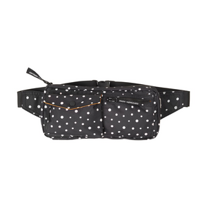 Recycled Bel Air Carni - Dame Taske - Black/Off White Dot