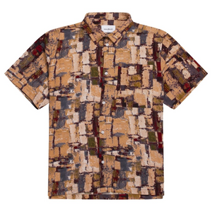 Splat S/S Shirt - Herre skjorte - Multi Color
