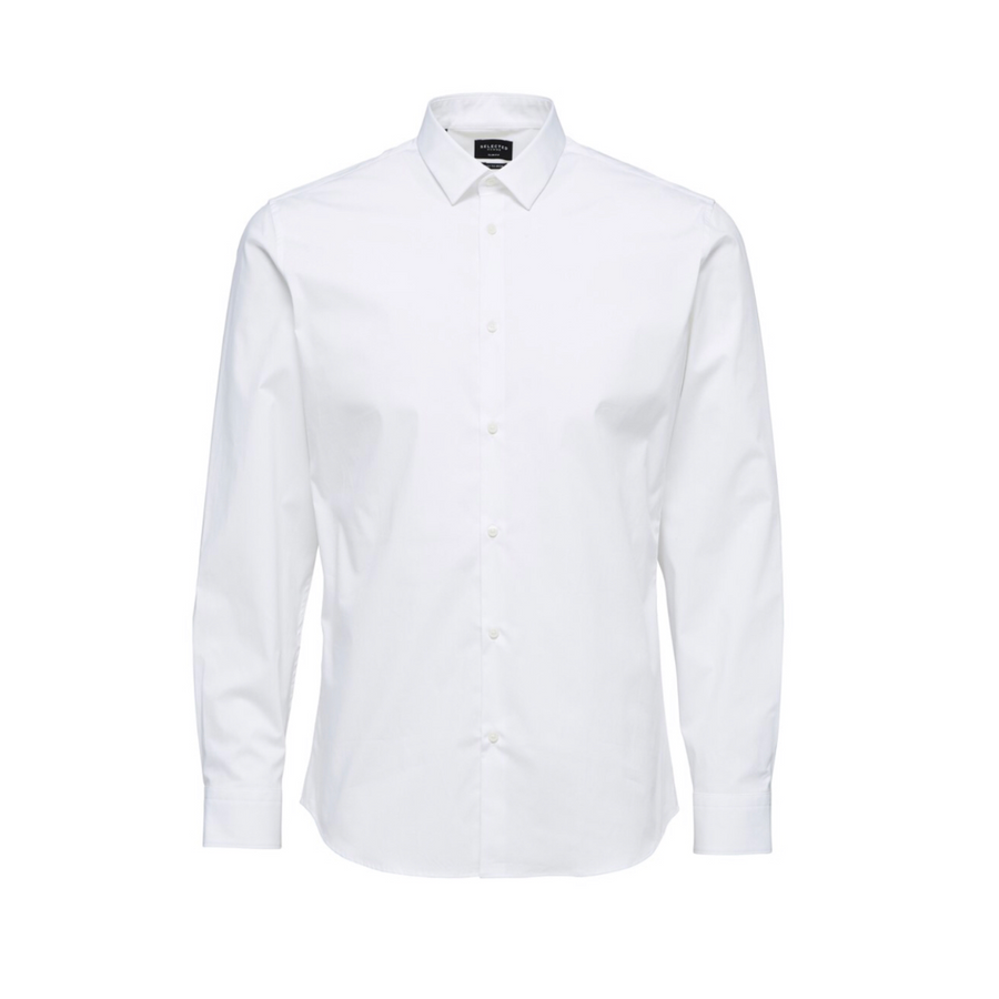 Clean Shirt - Herre skjorte - Bright White - Knokleriet